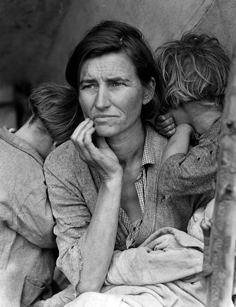 Migrant Mother - Dorothea Lange 1936
